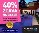 Akcia na keramické bazény Compass
