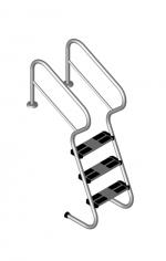Rebrík s úrovňou zabezpečenia 5 stupňový