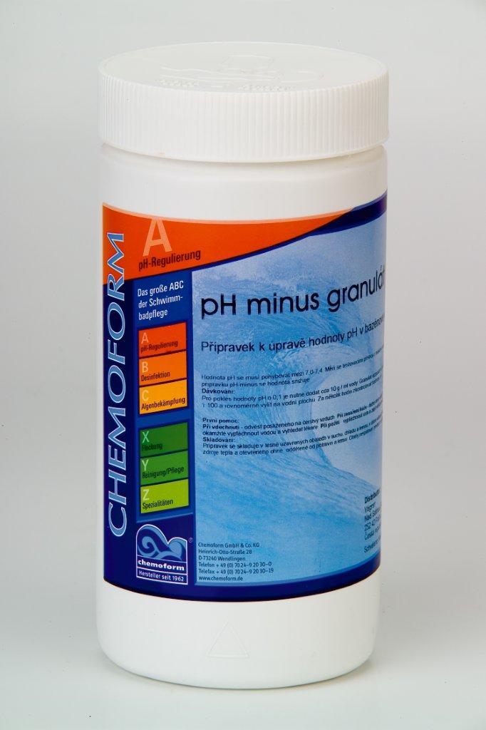 Chemoform pH Minus 1,5 kg - granulát
