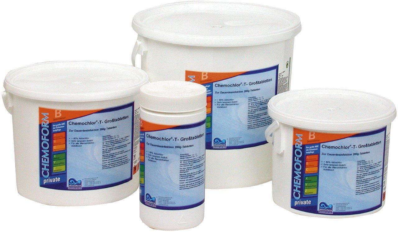 Chemoform chlórové tablety Maxi 5 kg, tableta 200 g, pomalurozpustné
