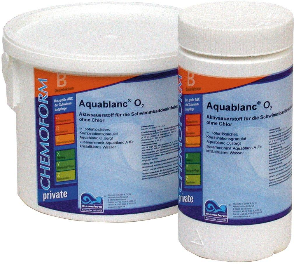 Chemoform Aqua Blanc–kyslíkové tablety O2 5 kg,tableta 20 g,potas. monosulfát 99%