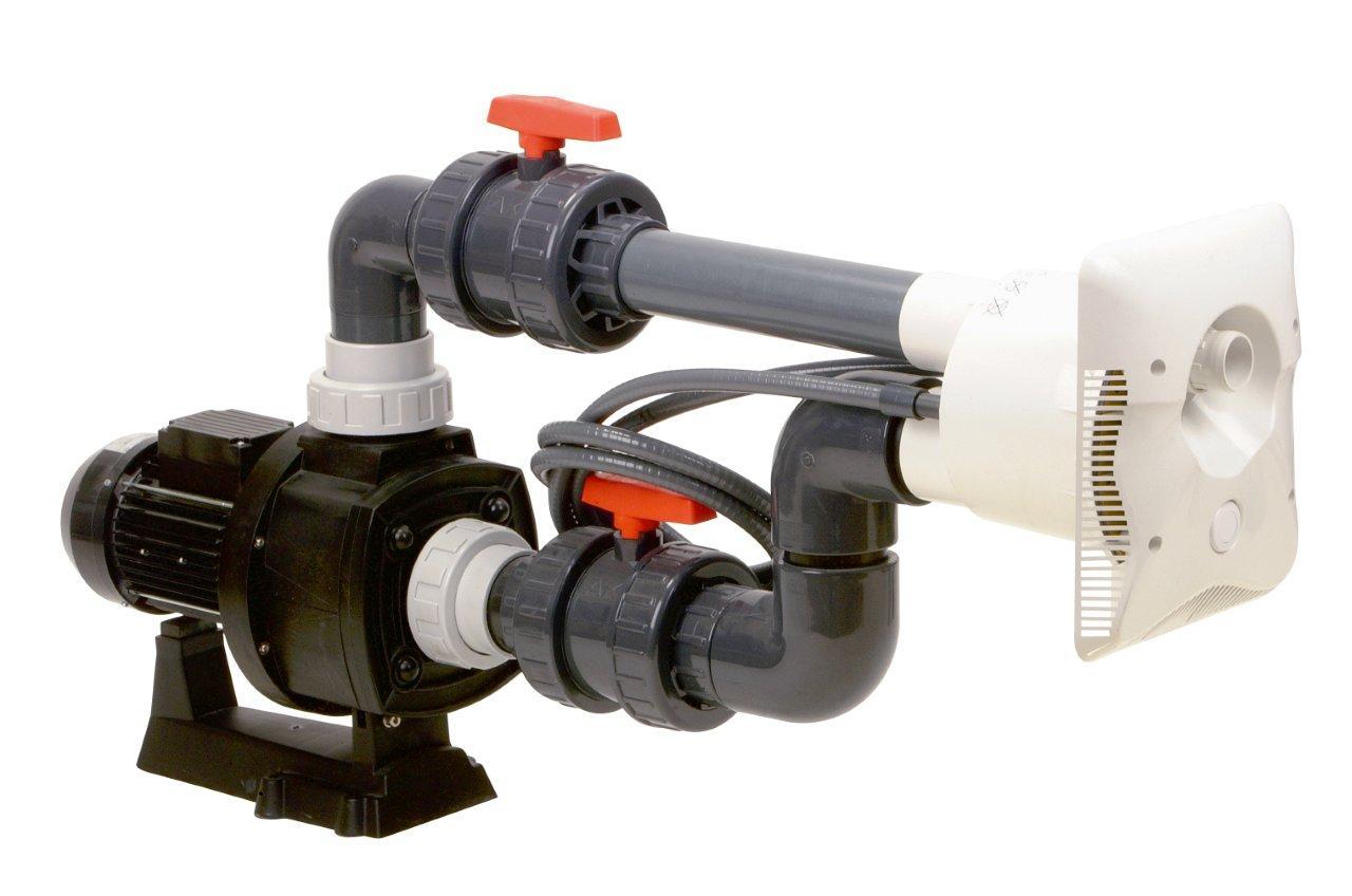 Protiproud K-JET Calipso – 70 m3/h, 400 V, 3,3 kW, pro fólii a předvyrobené baz.
