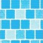 DLW delifol NGD Kék Mozaika, 1,7mm, 25m x 2m tekercs