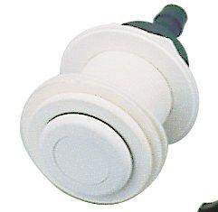 Pneu. tlačítko, včetně průchodu stěnou - pro předvyrobené bazény