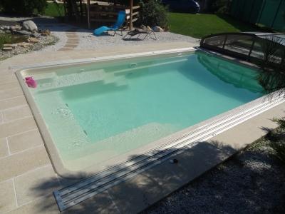 Keramický bazén - farba Nova Pearl