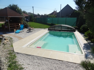 Keramický bazén X Trainer farba Nova Pearl