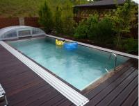 Nerezový bazén - skimmerový + prekrytie