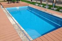 Bazén AQUA s terasovým zastrešením