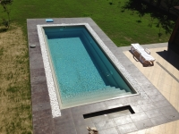 bazén TREND - pohľad z hora