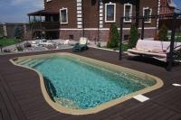 bazén RIVERINA 67 s pohodlným širokým schodiskom
