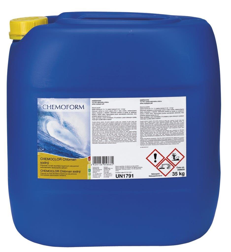 Chemoform chemochlor Stabil – chlornan sodný 35 l