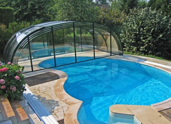 pool berdachung laguna neo. Black Bedroom Furniture Sets. Home Design Ideas