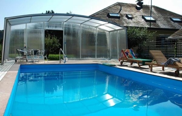 pool berdachung venezia. Black Bedroom Furniture Sets. Home Design Ideas