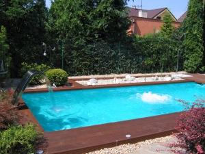 Bazény fóliové, nerezové