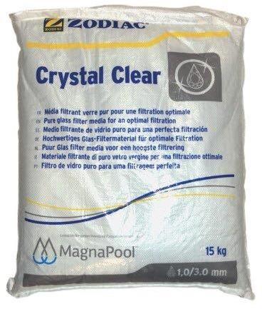 Filtrační sklo Crystal Clear 1-3mm