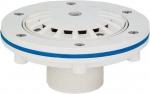 Podlahová tryska KRIPSOL - 14 m3/h, uzavíratelná 0–100 %, pro fólie