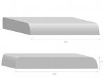 Rovná L49 cm