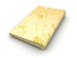 Rovná L49 cm žltý melír