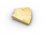 Rádius R30cm  žltý melír