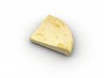 Rádius R100cm opačný žltý melír
