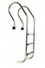 Nerezový, 3 stupňový rebrík MIXTA AISI 316