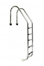 Nerezový rebrík STANDARD 5 stupňový
