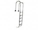 Nerezový rebrík MURO 5 stupňový