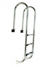 Nerezový rebrík MURO 3 stupňový