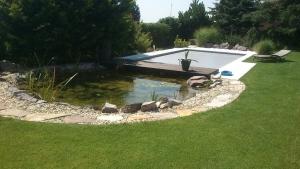 Bazén + jazierko