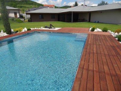 Bazén s AquaDiamante technológiou