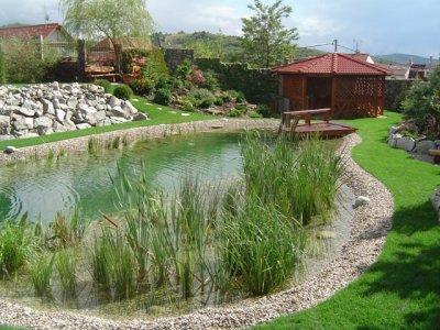 Záhradné jazierka, kúpacie jazierka