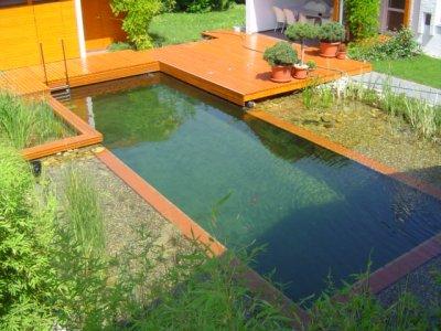 Fürdőtó, kerti tó