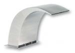 Chrlič - Delfín 320 mm, nerezový, pripojenie 75 mm, povrch zrkadlový lesk