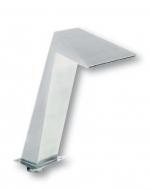 Vízköpő - Kubista 370 mm, rozsdamentes acél, 75 mm-es csatlakozás, matt felülettel