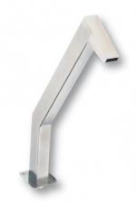 Vízköpő - Zsiráf 55 mm, rozsdamentes acél, 63 mm-es csatlakozás, matt felülettel