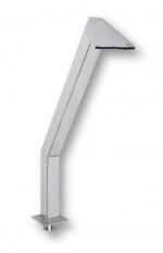 Vízköpő - Kacsa 400 mm, rozsdamentes acél, 63 mm-es csatlakozás, fényes felülettel