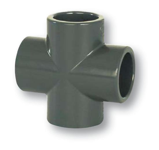 FIP PVC tvarovka - kříž 50 mm