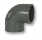 PVC könyök 90° 63 mm