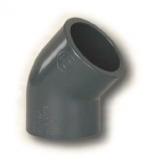 FIP PVC tvarovka - uhel 45° 50 mm