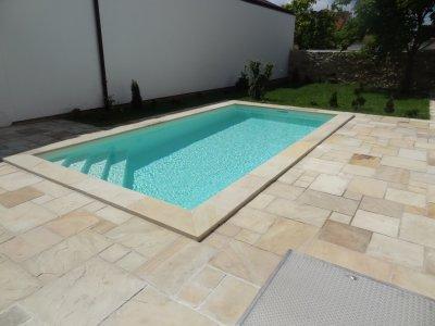 Bazén s AquaDiamante úpravou vody