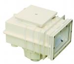Skimmer V20 ABS, na fólii, 200 x 150 mm, s mosaznými zástřiky