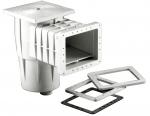 Skimmer KRIPSOL, pro fólii, sání 200mm x 180mm, s vakuovým kotoučem