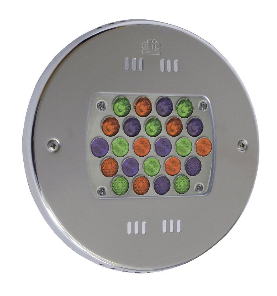 VAGNERPOOL Podvodní LED světlo 24 x 3 W (světlo - barevné RGB)
