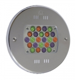 Podvodné LED svetlo 24 x 3W (svetlo farebné RGB)