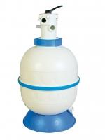 Filtrační nádoba GRANADA 600 mm, 14 m3/h, horní, 6-ti cestný top ventil
