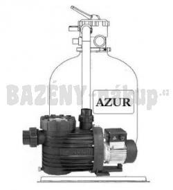 Vágnerpool: Azur KIT 480 - filtrační zařízení 9 m3/h, 230 V s čerpadlem Bettar Top 8