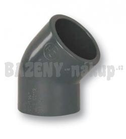 FIP PVC uhel 45° 63 mm