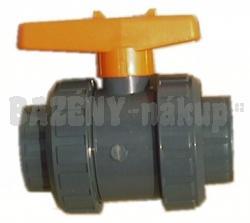 FIP PVC kulový ventil 50 mm