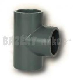 FIP PVC tvarovka - t-kus 90° 50 mm