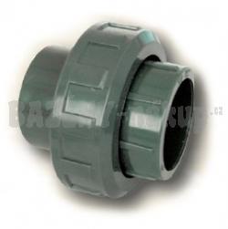 FIP PVC tvarovka - šroubení 50 mm